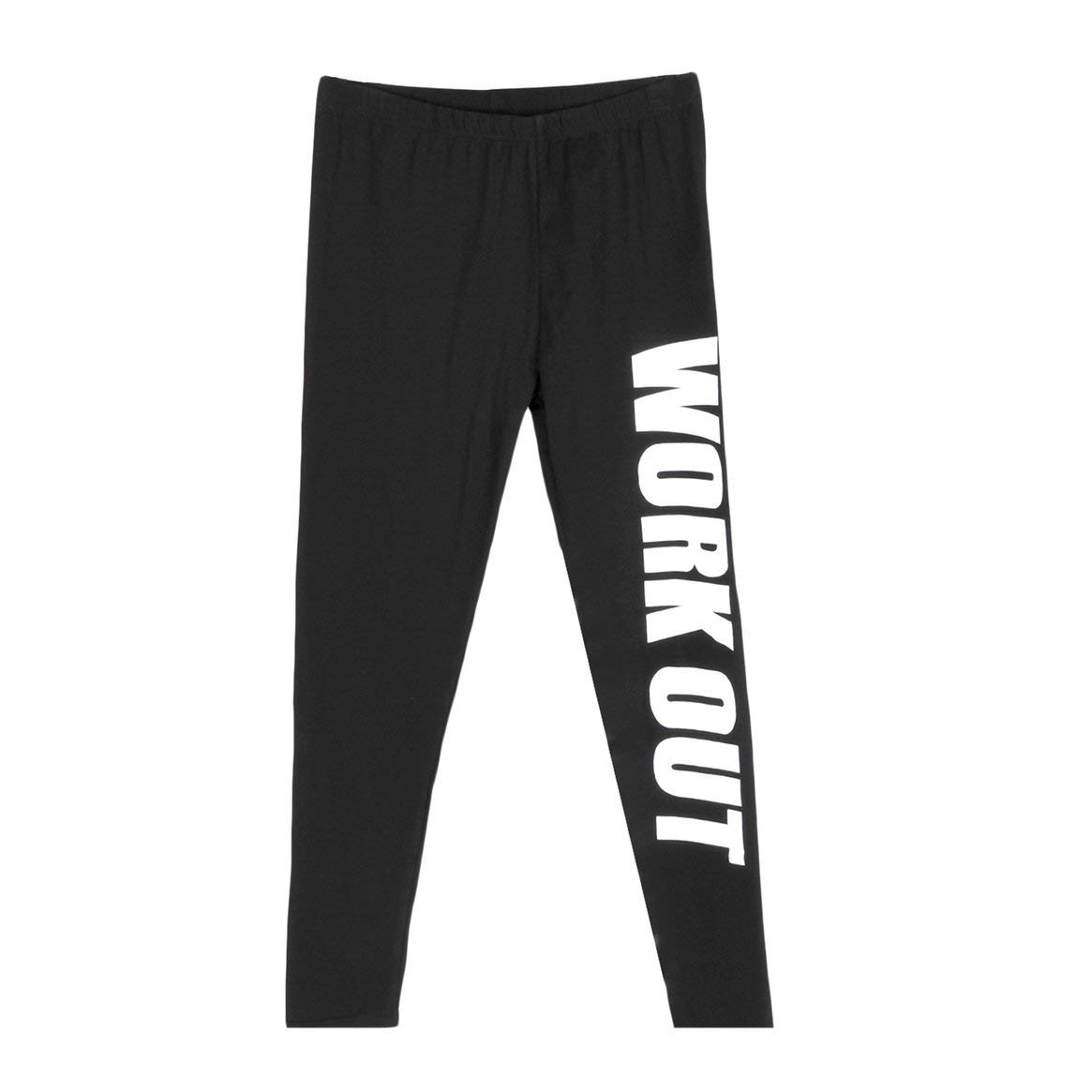 Delicacydex Leggings da allenamento per donna Elastic Comodo Stretch Sport Slim Legging Workout Pants Yo-ga Gym Fitness Fitness Pants