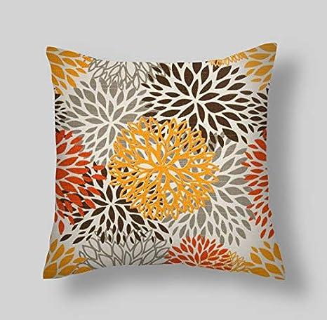 YSHDNDML - Funda de cojín Decorativa, 45,7 x 45,7 cm, diseño ...