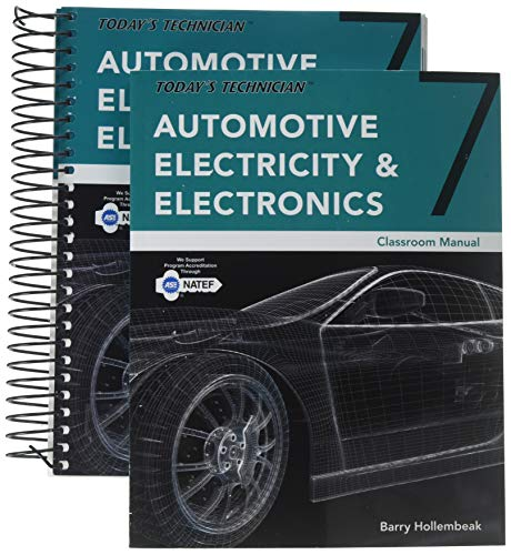 Bundle: Today's Technician: Automotive Electricity and Electronics, Classroom and Shop Manual Pack, Spiral bound Version, 7th + MindTap Automotive, 4 terms (24 months) Printed Access Card