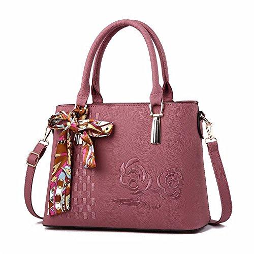 Minimalist Hand New Lady Gray Pink Bag Gwqgz gAtPSwqS