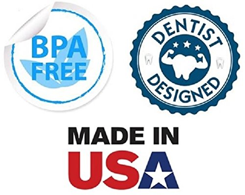 ProDental Professional Teeth Whitening Kit - Made in USA - Faster Results Than Tooth Whitening Strips, Pen, Powders and Toothpaste. Safe for Sensitive Teeth. Includes Gel and Trays for 24 Treatments by ProDental (Image #3)