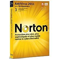 Norton antivirus 2011 (3 postes, 1an) [Import]