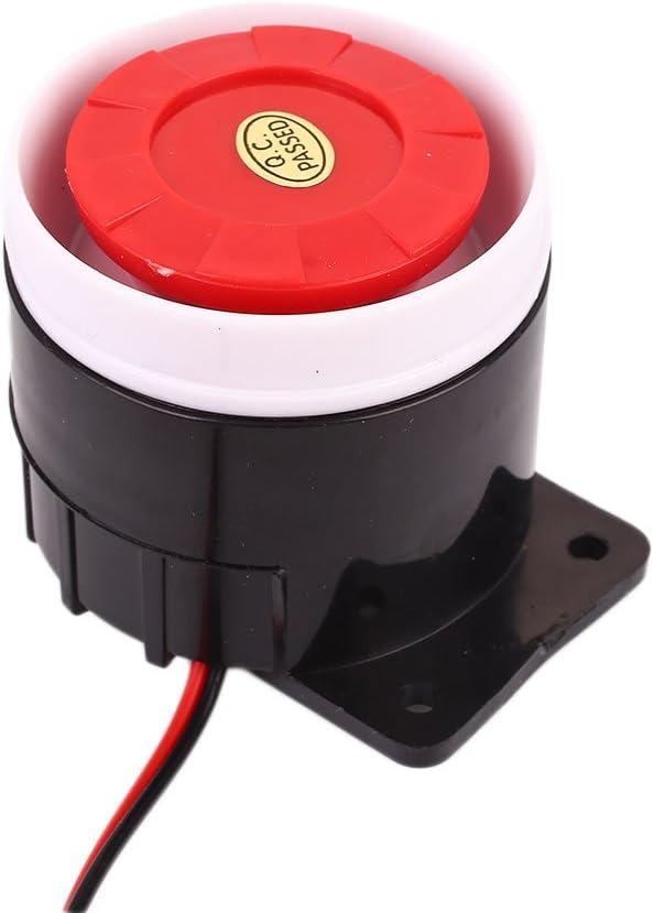 Sedeta® 24v Tweeter Alarma bocina Sirena zumbador tweeters Altavoces Activos Altavoz antirrobo para la Seguridad Sistema de Alarma
