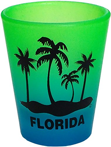 PALM TREE FLORIDA FUNNY SHOT GLASS COLLECTABLE SOUVENIR NOVELTY GIFT 16GB
