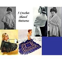 5 Modèles de Châle crochet (French Edition)
