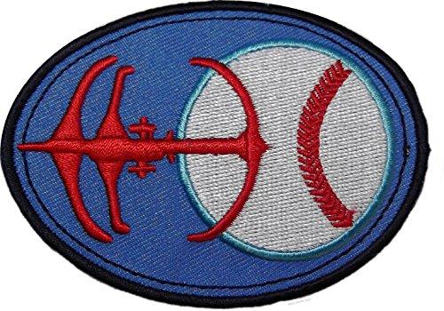 STAR TREK DS9 Baseball Holosuite Prop Logo 3 1/2