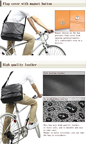 "[Craft Nine] Shoulder/Messenger Bag A4 size (15.6"" laptop) for Business/School for Men and Women"