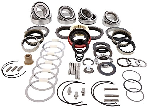 5 Speed Transmission Bearings - Ford Chevy T5 T-5 World Class 5 Speed Transmission Bearing Kit W/Synchros Deluxe