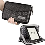 7 inch lg tablet protective case - NiceEbag EVA Water Repellent Tablet Sleeve Cover Case PU Leather Hand Storage Carrying Protective Pouch Bag For 8 Inch Apple iPad Mini, Galaxy Tab 7, Nexus 7, LG G Pad 7, ZenPad 7 (Black)