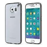 PureGear Slim Shell PRO for Samsung Galaxy S6 - Clear/Light Gray