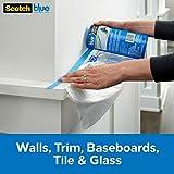 ScotchBlue Pre-taped Painter's Plastic, Unfolds to