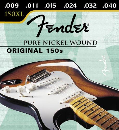 Fender Original Pure Nickel Wound 150 cuerdas para guitarra eléctrica - 09-40: Amazon.es: Instrumentos musicales