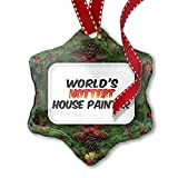 professional house painters  Christmas Ornament Worlds hottest House Painter
