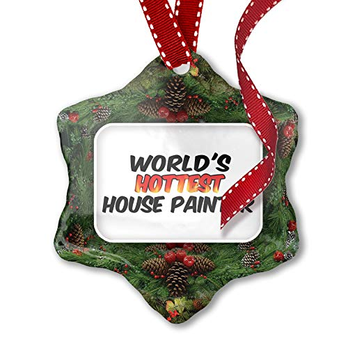 Christmas Ornament Worlds hottest House Painter