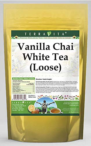 Vanilla Chai White Tea (Loose) (8 oz, ZIN: 545591)