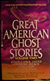 Great American Ghost Stories, Frank D. McSherry, 042513623X