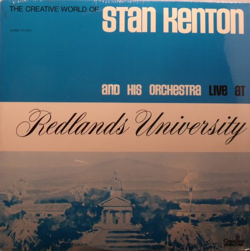 Price comparison product image Stan Kenton and His Orchestra Live At Redlands University