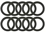 10 Pack of Alto 023722-180 Friction Clutch Plates