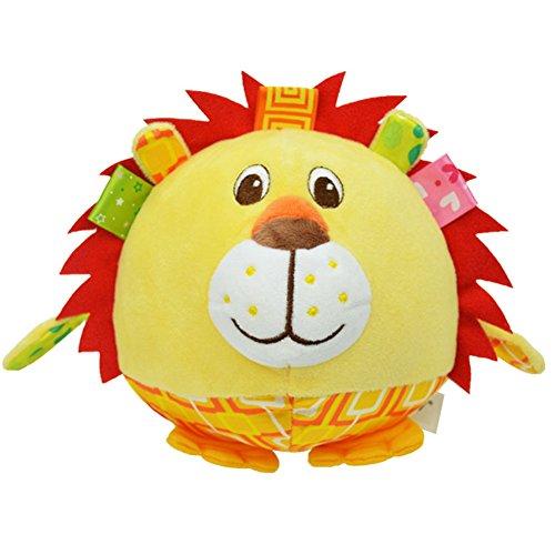 MONOMONO-Image vivid Cute Children Kids 3D Animal Shape Ball Toy (Lion) Inuyasha 3d Figure