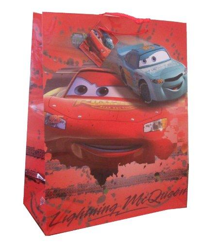 Geschenktasche Disney Cars Lightning Größe L 32x26x12