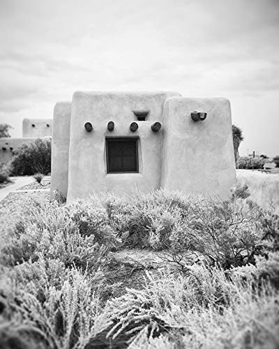 Black and White photography Desert photo Architectural decor 8x10 inch Print