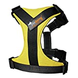 Dog Body Harness Padded Harness Heavy Duty Lifting Adjustable for Large Dogs, X-Large, Yellow