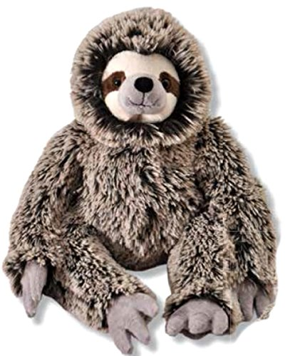 The Petting Zoo Plush Super Soft Frosted Brown 13  Three Toed Sloth
