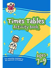 New Times Tables Activity Book for Ages 7-9: perfect for learning at home