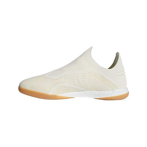 adidas X Tango 18+ IN, Zapatilla de fútbol Sala, Off White-White