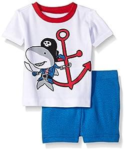 The Children's Place Big Boys' Shark Sleep Stretchie