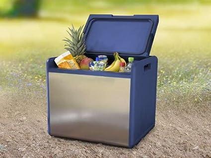 Mini Kühlschrank Oder Kühlbox : 39 liter kompressor kÜhlbox mit edelstahlblende camping outdoor