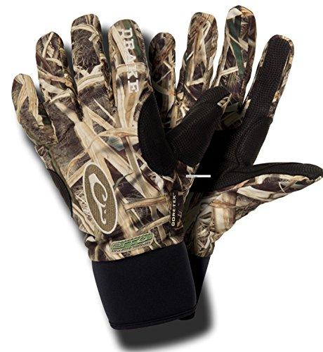 Drake Men's EST Refuge Gore-Tex Glove (MD, Mossy Oak Shadow Grass Blades)
