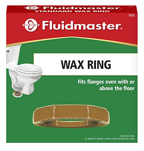 Fluidmaster 7510 Standard Wax Toilet Bowl Ring for 3-Inch and 4-Inch Waste Lines by Fluidmaster (Image #2)