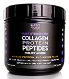 Grass-Fed Pasture Raised Pure Collagen Protein Powder Hydrolyzed Peptides Pure Unflavored