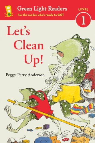 Let's Clean Up! (Turtleback School & Library Binding Edition) (Green Light Readers: Level 1)