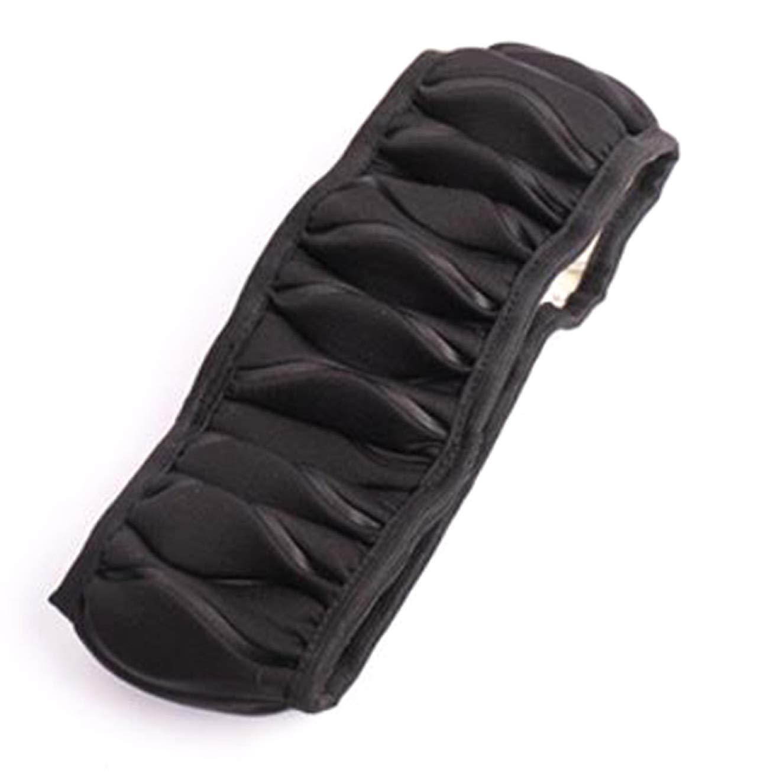 37-38Cm Universel sans Bague Int/érieure kokuya Solide Mode Uni Couleur Glace Soie /Élastique Bande Housse de Volant Voiture Tuning Accessoires Rouge