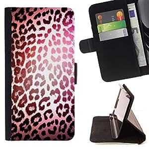 Momo Phone Case / Flip Funda de Cuero Case Cover - Réfléchissants fourrure - LG Nexus 5 D820 D821