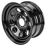Cragar 3975860: Wheel, Soft 8, Steel, Black, 15 in. x 8 in., 6 x 5.5...