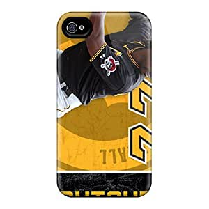 Defender Case With Nice Appearance (pittsburgh Pirates) For Iphone 4/4s