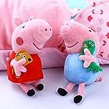 4Pcs Peppa Pig Family Plush Doll Stuffed Toy 12