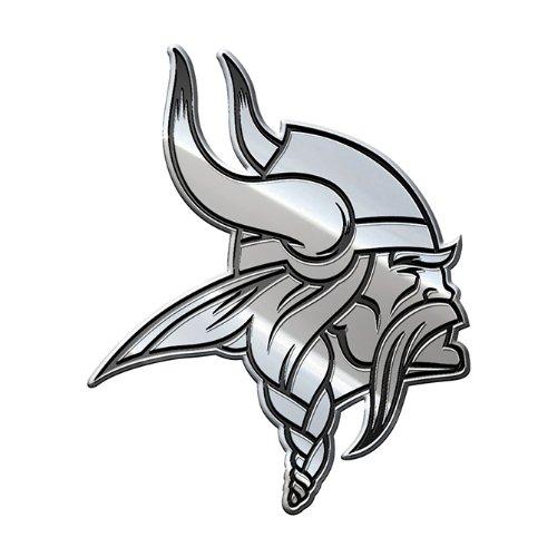 Minnesota Vikings Window - NFL Minnesota Vikings Premium Metal Auto Emblem