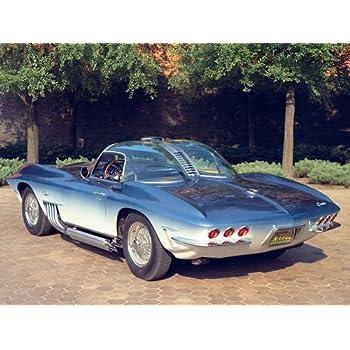 """1961 Chevrolet Corvette XP-755 concept Mako Shark Ad 14 x 11/"""" Photo Print"""