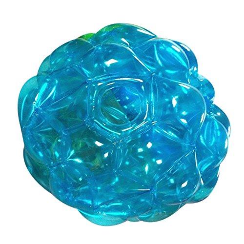 SM SunniMix ウェアブル バブル サッカーボール インフレータブル バンパーボール 相撲スーツ バックヤード ゲームおもちゃ 全2色 - 青