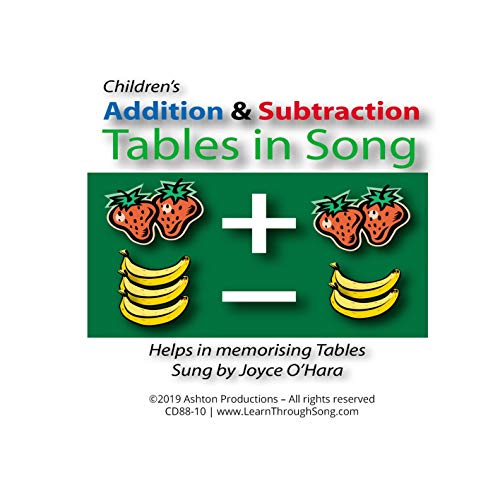 (Addition & Subtraction Tables in Song)