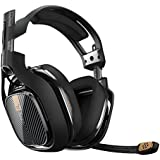 ASTRO Gaming A40 TR Gaming Headset for PC, Mac - Black(Certified Refurbished)