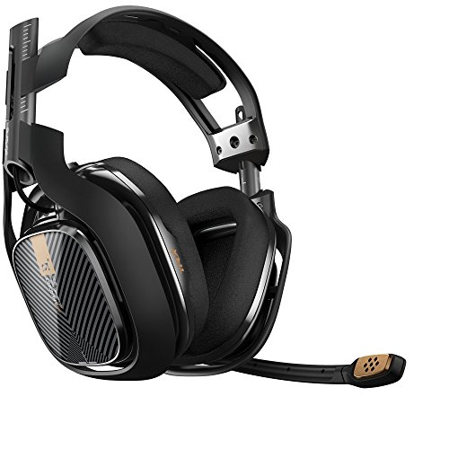 ASTRO Gaming A40 TR Gaming Headset for PC, Mac - Black(Renewed) (Best Window Cleaning Equipment)