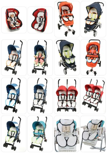 Manito Breath Royal Seat Pad Mesh Cover for Baby Stroller and Car Seat Liner