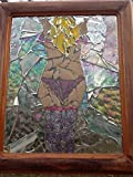 Stained Glass Burlesque Blonde window Art Sun Catcher