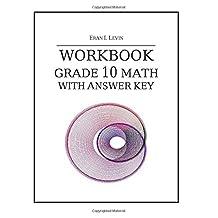 Workbook - Grade 10 Math with Answer Key
