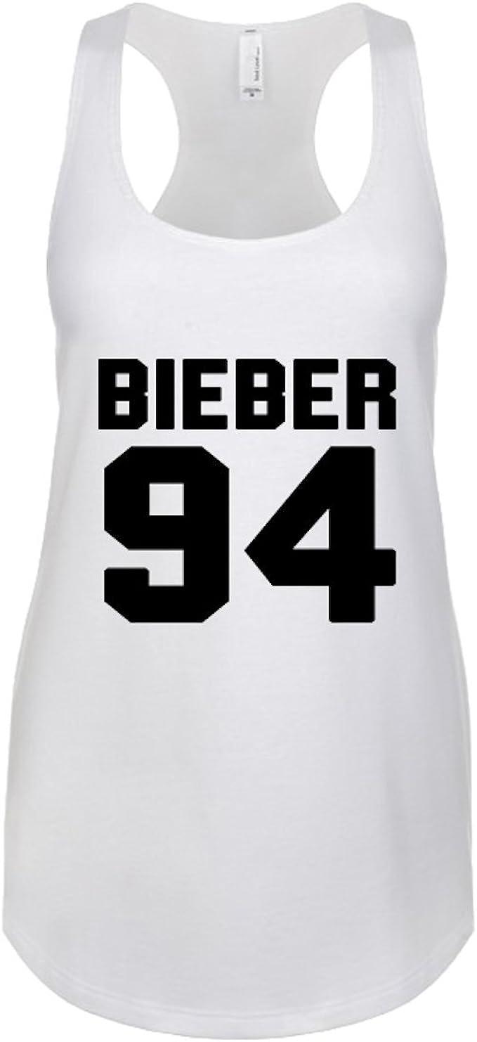 97 Sign Justin Bieber/Bieber 94 - Camiseta de Tirantes para ...